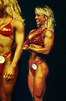 Fitness, Nanna Bjone, deltok i norgesmesterkapet.