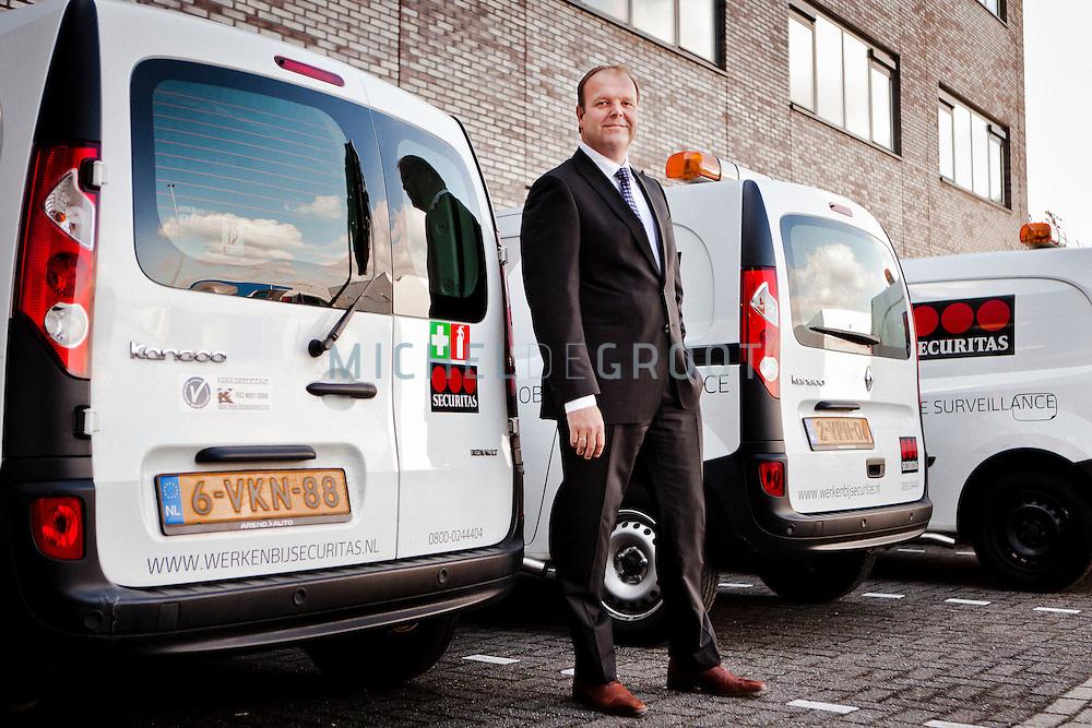 Cor Stolk, Securitas in Rotterdam