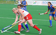 Katie GLYNN during the BDO Womenís Championship Challenge match between New Zealand and Italy held at the Hartleyvale stadium in Cape Town, South Africa on the 14 October 2009