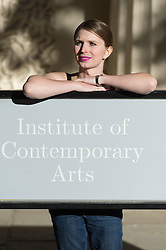 October 1, 2018 - London, London, UK - Former United States army soldier and whistle blower Chelsea Elizabeth Manning appears outside the ICA. Manning is in London for a conversation event with James Bridle and then as a guest of honour at the annual ICA dinner., UK. (Credit Image: © Ray Tang/London News Pictures via ZUMA Wire)