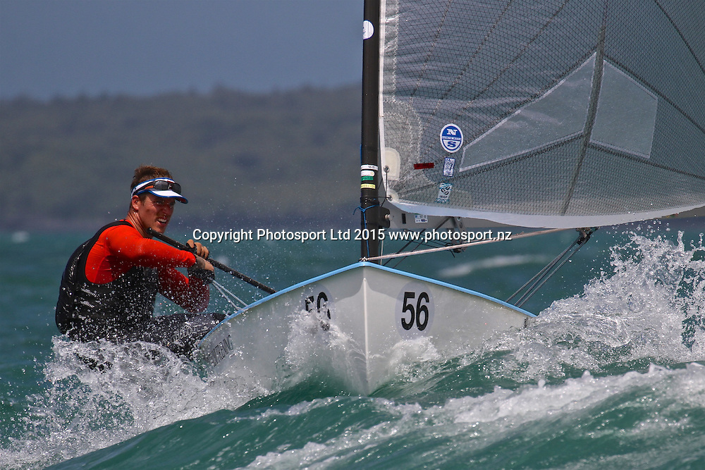 Race 7  Finn Gold Cup Takapuna - Josip Olujic (CZE)