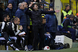 January 10, 2018 - Vila-Real, Castellon, Spain - Asier Garitano head coach of CD Leganes reacts during the Copa del Rey Round of 16, second leg game between Villarreal CF and CD Leganes on January 10, 2018 in Vila-real, Spain  (Credit Image: © David Aliaga/NurPhoto via ZUMA Press)