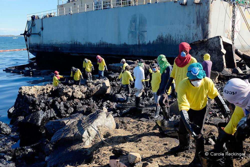 Estancia oil spill