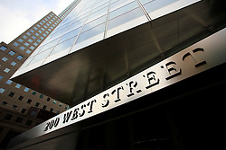 USA NEW YORK 5JUN10 - 200 West Street, a new headquarters and a smart building by Goldman Sachs in downtown Manhattan, New York...jre/Photo by Jiri Rezac..© Jiri Rezac 2010