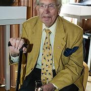 NLD/Amsterdam/20140507 - Presentatie Helden Magazine nr. 22, oud wielrenner Henk Faanhof