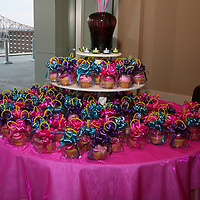 Cupcake Raffle Table