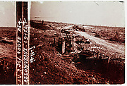 WW1 front trenches