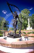 Harrisburg, PA, Reservoir Park, Sculpture and Fountain