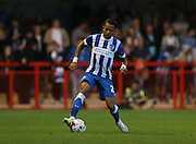 Liam Rosenior during the Pre-Season Friendly match between Crawley Town and Brighton and Hove Albion at the Checkatrade.com Stadium, Crawley, England on 22 July 2015.