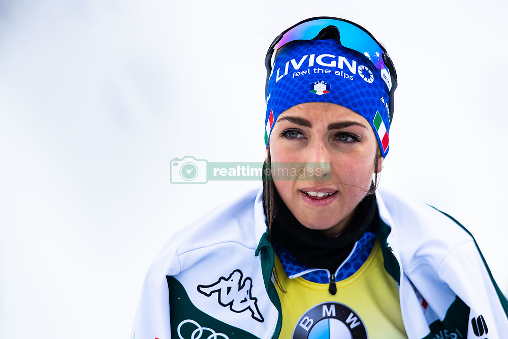 March 8, 2019 - –Stersund, Sweden - 190308 Lisa Vittozzi of Italy ahead of the Women's 7.5 KM sprint during the IBU World Championships Biathlon on March 8, 2019 in Östersund..Photo: Johan Axelsson / BILDBYRÃ…N / Cop 245 (Credit Image: © Johan Axelsson/Bildbyran via ZUMA Press)