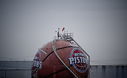 The Detroit Pistons ball Aliysha speaks about in her interview.