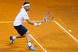 Fabio Fognini (ITA) during a tennis match against the Gastao Elias (POR) in semi-final of singles at 27th Konzum Croatia Open Umag, on July 24, 2016, in ATP Stadion Goran Ivanisevic, Umag, Croatia. Photo by Urban Urbanc / Sportida
