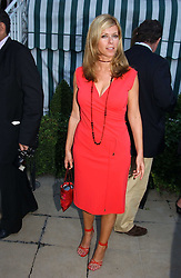 TV presenter KATE GARRAWAY at a party hosted by Andrew neil and The Business Newspaper held at The Ritz, Piccadilly, London on 12th July 2005.<br />