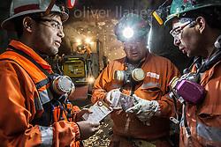 FOTÓGRAFO: Oliver Llaneza ///<br /> <br /> Reunión de mineros en PCHS