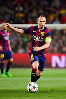 Andres INIESTA - 21.04.2015 - Barcelone / Paris Saint Germain - 1/4Finale Retour Champions League<br />