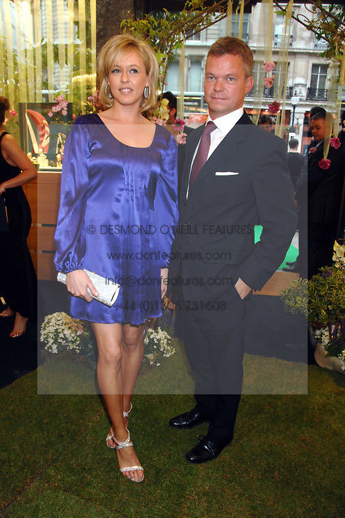 LADY ALEXANDRA SPENCER-CHURCHILL and SOREN JESSEN at the launch party for the Mappin & Webb Regents Street branch at 132 Regent Street, London on 19th June 2007.<br />