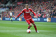 Middlesbrough midfielder, on loan from Southampton, Gaston Ramirez (21)  during the Sky Bet Championship match between Middlesbrough and Ipswich Town at the Riverside Stadium, Middlesbrough, England on 23 April 2016. Photo by Simon Davies.