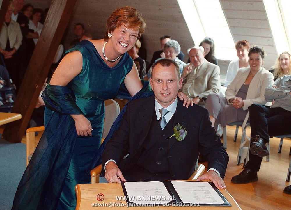 Huwelijk Hans Koedijker + Helen Brinkman Stompetoren