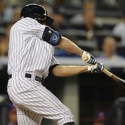 Brett Gardner, New York Yankees, batting during the New York Yankees V New York Mets, Subway Series game at Yankee Stadium, The Bronx, New York. 12th May 2014. Photo Tim Clayton