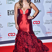 Laura Zilli Gold arrive at Float Like A Butterfly Ball for Caudwell Children Charity at Grosvenor House Hotel on 16 November 2019, London, UK.