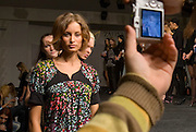 Russian models during a casting on the catwalk at the Slava Zaitsev agency in Moscow. Slava Zaitsev, king of fashion during the Soviet times, re-invented his brand after the Iron Curtain collapsed, creating a modeling school and fashion house in the centre of Moscow. .Russia supplies many models to the West. ..Photograph by Justin Jin