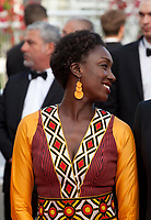 Maimouna N'Diaye at the closing ceremony and The Specials film gala screening at the 72nd Cannes Film Festival Saturday 25th May 2019, Cannes, France. Photo credit: Doreen Kennedy