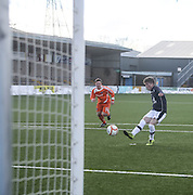 Lee Cameron scores the winner from the penalty spot - Forfar Athletic v Dundee, SPFL Under 19s League Cup at Station Park<br /> <br /> <br />  - &copy; David Young - www.davidyoungphoto.co.uk - email: davidyoungphoto@gmail.com