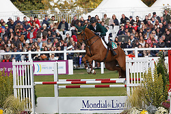 Richards Sophie, (IRL), SRS Adventure<br /> Jumping 6 years of age<br /> Mondial du Lion - Le Lion d'Angers 2015<br /> © Dirk Caremans<br /> 18/10/15