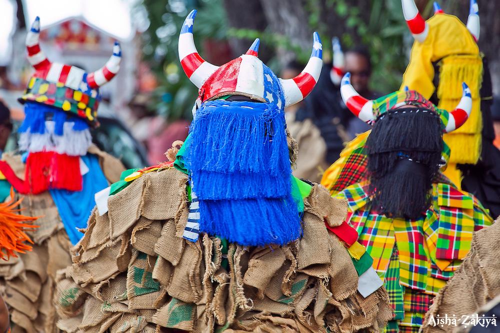 Waseen Dominik Afro Caribbean Masqueraders.  St. John Carnival 2012 © Aisha-Zakiya Boyd