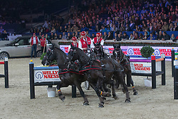 Schrijvers Gert (BEL)<br /> FEI World Cup Driving<br /> Flanders Christmas Jumping - Mechelen 2012<br /> © Dirk Caremans