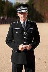 © Licensed to London News Pictures. 19/10/2011. LONDON, UK. Stock portrait of Metropolitan Police Commissioner Bernard Hogan-Howe. Photo credit: Matt Cetti-Roberts/LNP