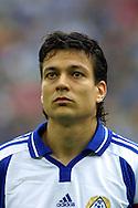 06.10.2001, Arena AufSchalke, Gelsenkirchen, Germany. FIFA World Cup Qualifying Match, Germany v Finland. Jari Litmanen (FIN)..©JUHA TAMMINEN