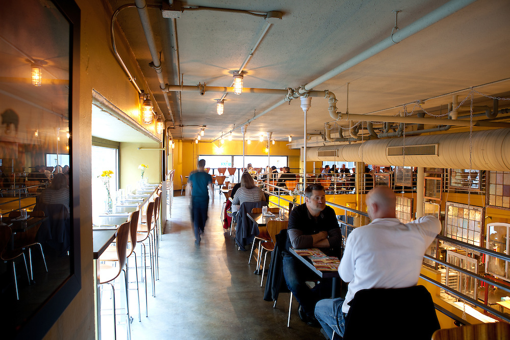 Bailey's Range, a restaurant specializing in burgers and milkshakes  in downtown St. Louis, MO.