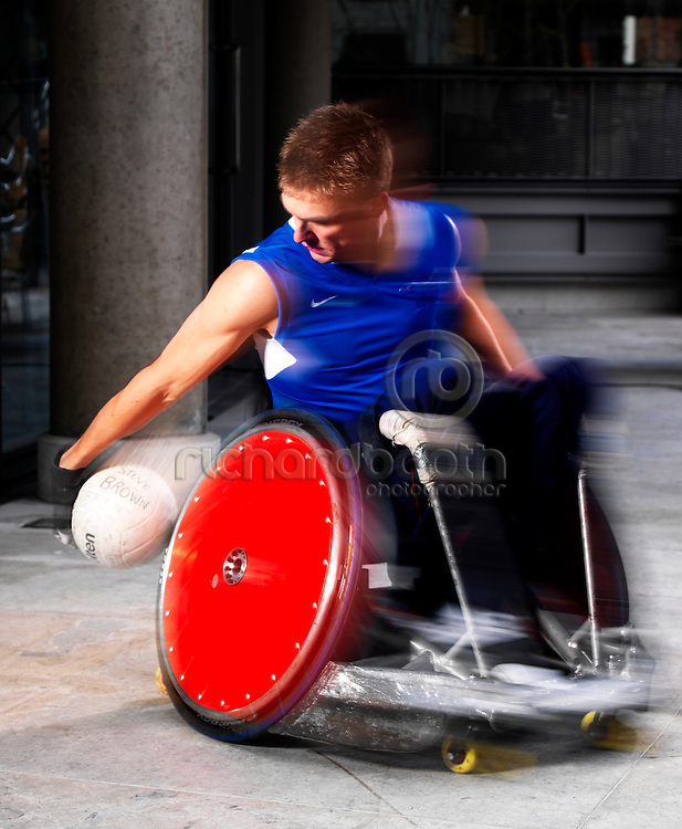 Steve Brown, Paralympic Captain, Wheelchair Rugby