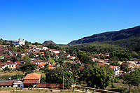 church of the typical village of tiradente in minas gerais state in brazil