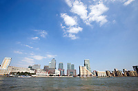 Skyline of Canary Wharf