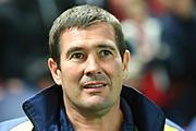 Burton Albion manager Nigel Clough during the EFL Sky Bet Championship match between Bristol City and Burton Albion at Ashton Gate, Bristol, England on 13 October 2017. Photo by John Potts.