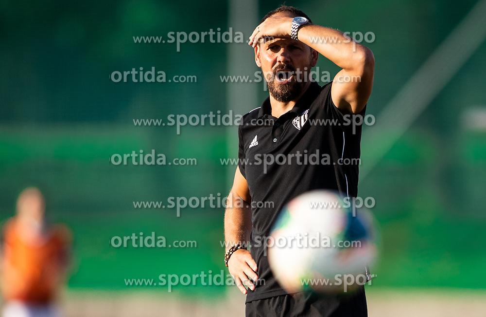 Ante Šimundža, head coach of Mura during football match between NK Triglav and NS Mura in 5th Round of Prva liga Telekom Slovenije 2019/20, on August 10, 2019 in Sports park, Kranj, Slovenia. Photo by Vid Ponikvar / Sportida