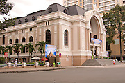 The Municiple Theatre of Ho Chi Minh City (or Saigon Opera House).