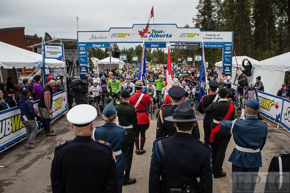 GRANDE PRAIRIE CANADA, ALBERTA - SEPTEMBER 3: Tour of Alberta on September 3, 2015 in Grande Prairie, Alberta, Canada. (Photo by Jonathan Devich/Getty Images) *** LOCAL CAPTION ***