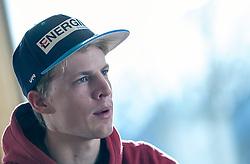 02.01.2015, for Friends, Mösern, AUT, FIS Ski Sprung Weltcup, 63. Vierschanzentournee, OeSV Pressekonferenz, im Bild Michael Hayböck (AUT) // Michael Hayböck of Austria before Pressconference of Austrian Team of the 63rd Four Hills Tournament of FIS Ski Jumping World Cup at the for Friends Hotel, Mösern, Austria on 2015/01/02. EXPA Pictures © 2015, PhotoCredit: EXPA/ JFK