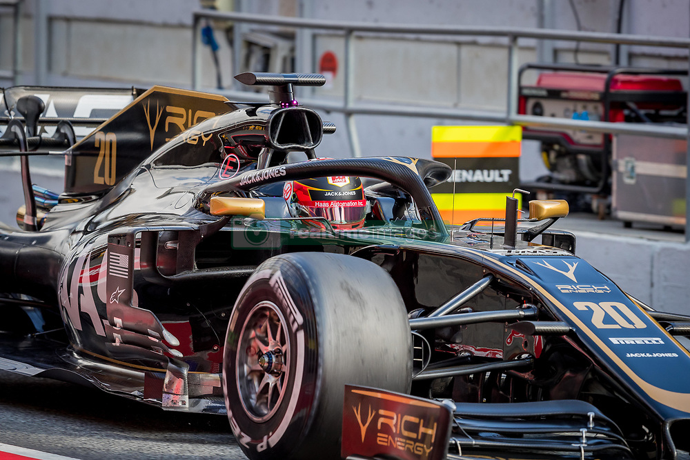 February 19, 2019 - Montmelo, Barcelona, Catalonia, Spain - Barcelona-Catalunya Circuit, Montmelo, Catalonia, Spain - 19/02/2018: Kevin Magnussen of Rich Energy Haas F1 Team during second journey of F1 Test Days in Montmelo circuit. (Credit Image: © Javier Martinez De La Puente/SOPA Images via ZUMA Wire)