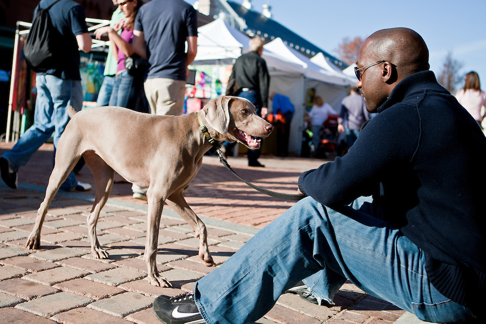 Capitol Hill, Washington, DC, Eastern Market, Flea Market, Dog