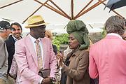 REGGIE ANSAH, KADJA NIN, Cartier Style et Luxe, Goodwood Festival of Speed. 7 July 2019