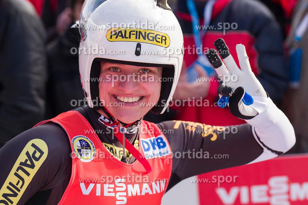 26.11.2016, Winterberg, GER, Viessmann Rennrodel Weltcup, Winterberg, Damen, Einsitzer, im Bild Birgit Platzer AUT // during women's single seater of Viessmann Luge World Cup. Winterberg, Germany on 2016/11/26. EXPA Pictures &copy; 2016, PhotoCredit: EXPA/ Rolf Kosecki<br /> <br /> *****ATTENTION - OUT of GER*****