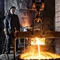 Hargreaves Foundry - Halifax - Yorkshire ( Est : 1896 ) - General Ironfounders . The Furnaceman