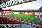 General view inside the Stadium Of Light, Sunderland, England before the EFL Sky Bet League 1 match between Sunderland AFC and Wycombe Wanderers on 11 January 2020.