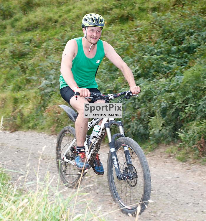 CRAGGY ISLAND TRIATHLON..... Alex Smith competing in Craggy Island Triathlon..(c) STEPHEN LAWSON | SportPix.org.uk