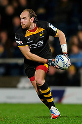 Wasps Fly-Half (#10) Andy Goode  in action during the second half of the match - Photo mandatory by-line: Rogan Thomson/JMP - Tel: 07966 386802 - 17/10/2013 - SPORT - RUGBY UNION - Adams Park Stadium, High Wycombe - London Wasps v Bayonne - Amlin Challenge Cup Round 2.