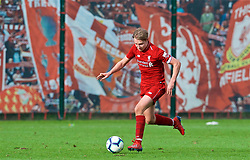 KIRKBY, ENGLAND - Saturday, January 26, 2019: Liverpool's captain Paul Glatzel during the FA Premier League match between Liverpool FC and Manchester United FC at The Academy. (Pic by David Rawcliffe/Propaganda)